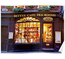 Bettys Tea Room - Stonegate York Poster