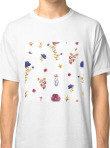 flowers watercolor  Classic T-Shirt