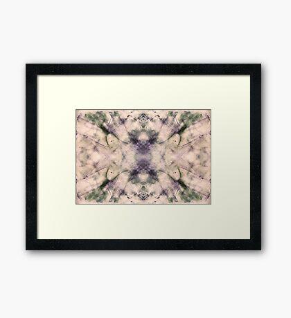 Rorschach Test 2 Framed Print