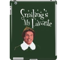 Buddy The Elf - Smiling's My Favorite iPad Case/Skin