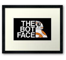 THE BOT FACE Framed Print