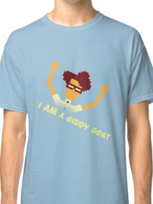 Maurice Moss - I AM a giddy goat (I.T. Crowd Design) Classic T-Shirt