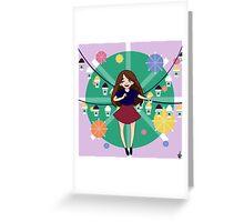 Snocone Cutie Greeting Card