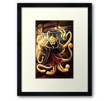 Koro-Sensei Framed Print