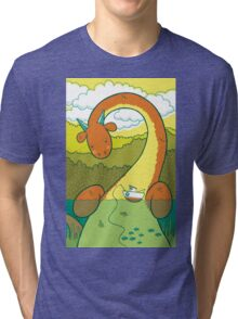 The Big 3: Loch Ness Tri-blend T-Shirt