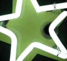 Neon Star Sticker