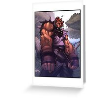 Akuma Greeting Card