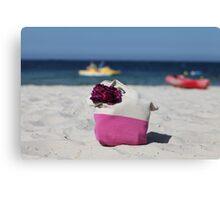 beach bag Canvas Print