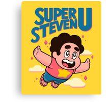 Super Steven U Canvas Print
