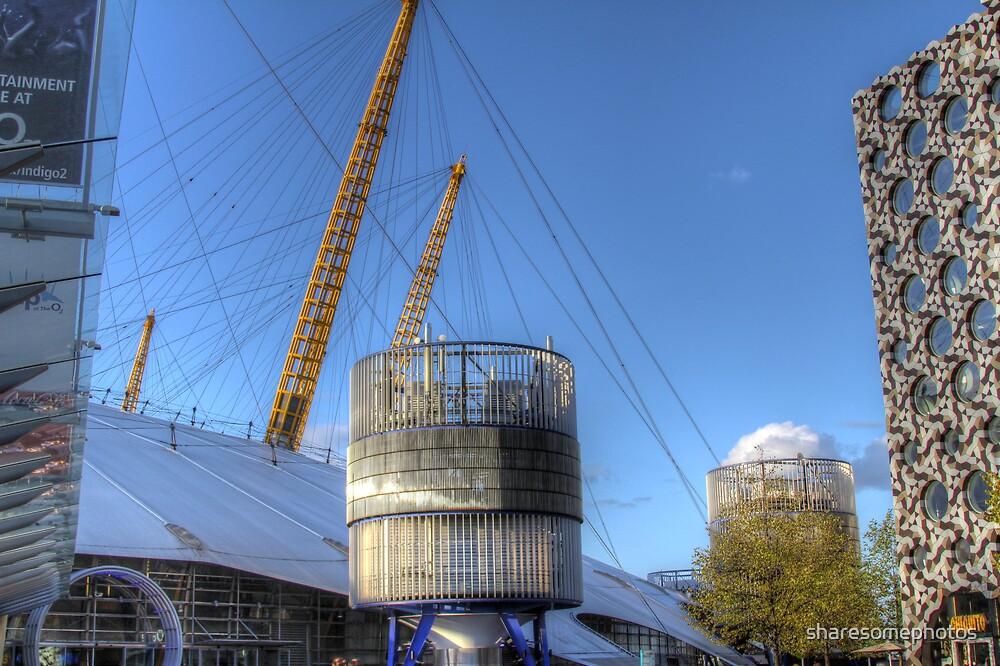 London O2 arena by sharesomephotos