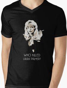 Twin Peaks - Laura Palmer Mens V-Neck T-Shirt