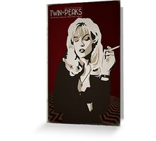 Twin Peaks - Laura Palmer Greeting Card