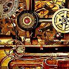 Steampunk Gearbox  by Larry Oates