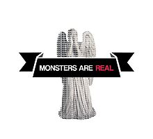 monsters are real (weeping angel version 2) by dclete