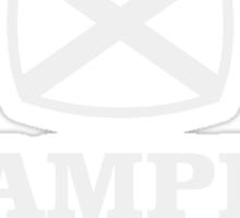 Grampian retro TV logo  Sticker