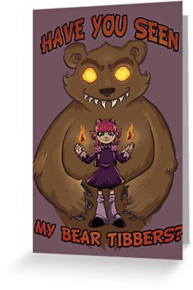 Annie and her Bear by AriannaFah