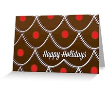 Gingerbread House - Holiday Card Greeting Card