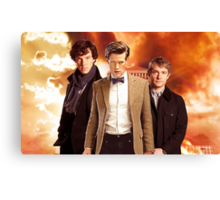 WhoLock Group Canvas Print