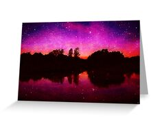 Ethereal World Greeting Card