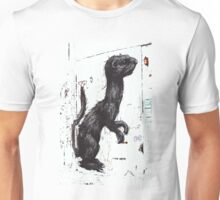 Giant Ferret, by ROA Unisex T-Shirt