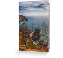 Cabo da Roca, Sintra, Portugal Greeting Card