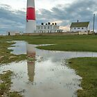 Portland Bill Puddle by Lorne Cooper