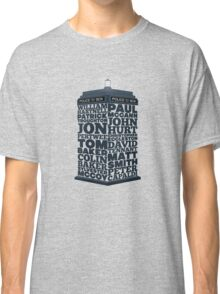 Name of the Doctors Classic T-Shirt