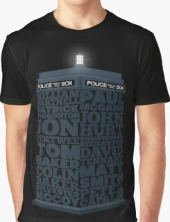 Name of the Doctors Graphic T-Shirt