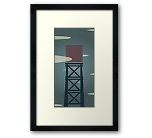 SKY WELL Framed Print