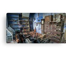 Gardener's Store Calke Abbey Canvas Print