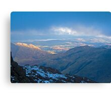 Langdale skies, Lake District Canvas Print