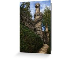 Castle Watch Tower  Greeting Card