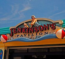 Jenkinson's Pavilion - Pt. Pleasant Beach NJ by Paul Gitto