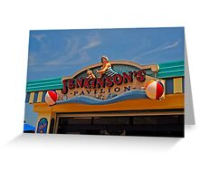 Jenkinson's Pavilion - Pt. Pleasant Beach NJ Greeting Card