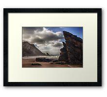 Praia da Adraga Framed Print