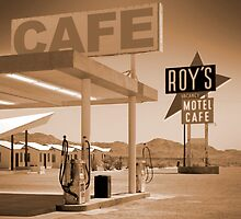 Route 66 - Roy's Motel by Mike  McGlothlen