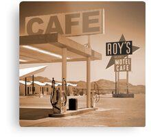 Route 66 - Roy's Motel Metal Print