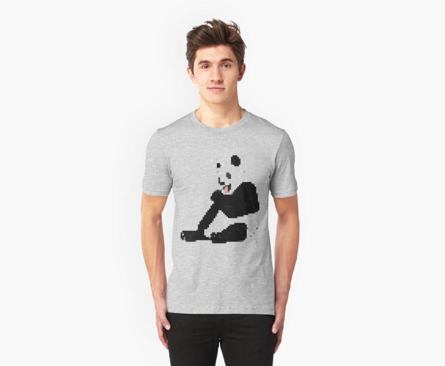 8-Bit Panda by Andrew Tyssen