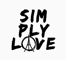 Simply Love - Paris (Black) Unisex T-Shirt