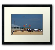 Martell's Tiki Bar - Pt. Pleasant Beach NJ Framed Print