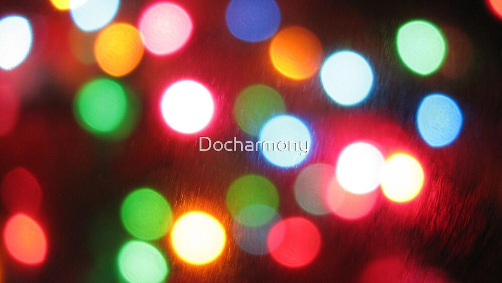Dots Nice - Christmas Lights by Docharmony