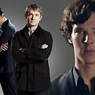 BBC's Sherlock by drawingdream