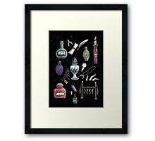 Witches' Stash Framed Print