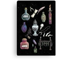 Witches' Stash Canvas Print