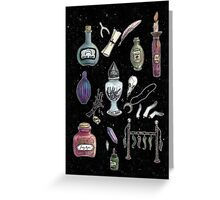 Witches' Stash Greeting Card