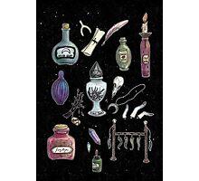 Witches' Stash Photographic Print