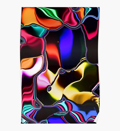 Imagination Abstract Poster