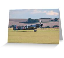 Supermarine Spitfire Mk XIV Greeting Card