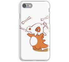 Cubone pokemon dinosaur iPhone Case/Skin