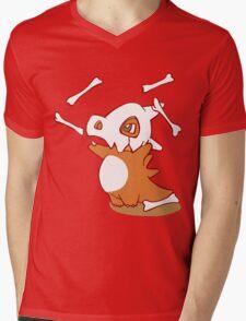 Cubone pokemon dinosaur Mens V-Neck T-Shirt